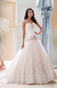 Featured Dress David Tutera For Mon Cheri Wedding Idea Beautiful Gowns