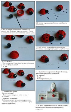 Tale of the ladybug 2.  instructions, quilling