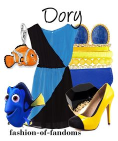 """Dory"" by fofandoms ❤ liked on Polyvore"