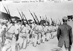 Federals - 1914 Pancho Villa, Cristero War, Mexican Army, Mexican Revolution, Bad Timing, America, Villas, Painting, Times