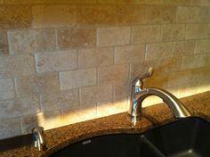 Kitchen Backsplash Stone steps for sealing a natural stone tile backsplash | stone tiles