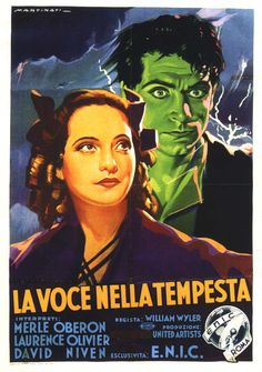 ITALIAN movie poster for Wuthering Heights!