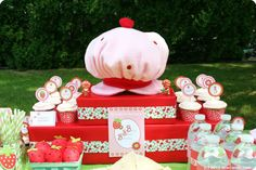 Strawberry Shortcake Birthday Party Ideas | Photo 2 of 13 | Catch My Party