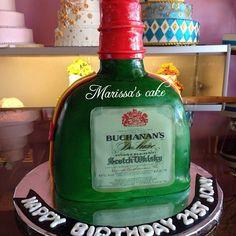 Buchanan's birthday cake. Visit us Facebook.com/marissa'scake or www.marissa'scake.com