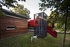 http://www.baldridge-architects.com  was going to talk to them. i dont LOVE this.. but it shows they think outside the typical playscape