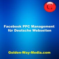 Facebook PPC management Facebook, Management, Christmas Deals, Website, German