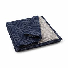 Lexington Company Soft Quilt Bedspread, Single - Blue/Light Beige  | The Organizing Store #lexingtoncompany