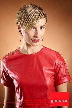Kreatos kapsels voor vrouwen 2015 - Brown Sugar - haar kort blond