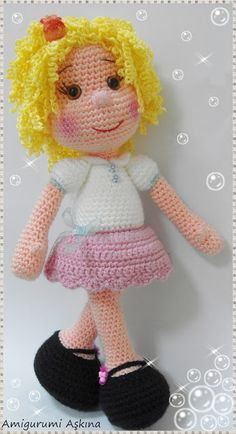 1000+ images about Crochet Dolls on Pinterest Amigurumi ...