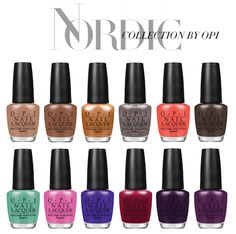 Nordic Collection by OPI. On Counters Aug 6th.