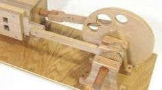 wooden air engine - YouTube