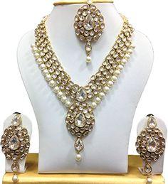 Latest Designer Bridal White Pearl Kundan Bollywood Elega... https://www.amazon.ca/dp/B01MYYYGFJ/ref=cm_sw_r_pi_dp_x_Is-nzbHXZ37XN