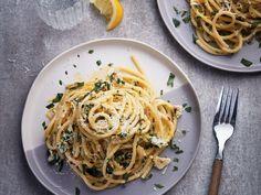 Easy lemon pasta