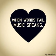 So True To My Life! Would be Lost Without Music! <3