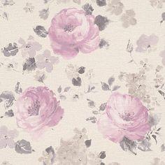 Vliestapete, Rasch, »Florentine Blüte«