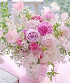 A beautiful bouquet of flowers. Beautiful Flower Arrangements, Fresh Flowers, Spring Flowers, Floral Arrangements, Beautiful Flowers, Pastel Flowers, Peach Flowers, Simply Beautiful, Colorful Flowers
