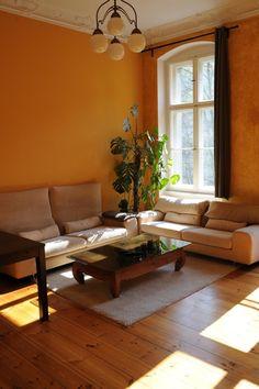 Warme Wandfarbe Als Einrichtungstipp Frs Wohnzimmer Wohnung In Berlin