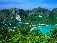 Phi Phil Island in Thailand