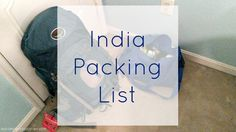 Well everyone, I am mostly packed up to go to India tonight! Yes, TONIGHT! Packing for India was a little different than packing for my other trips to Europe and to various cities around the U.S. I…