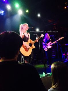Emily Kinney performing at The Troubador in L.A on June 24th 2015