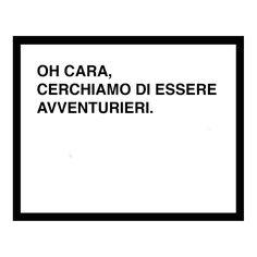 oh darling lets be adventurers screen print italian - black. $40.00, via Etsy.