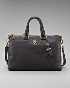 Daino Zip-Top Tote by Prada at Neiman Marcus. W A N T!!!!