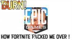 """Burn Epic Games ""- Welcome to BugNite I mean Fortnite ! Wrestling Games, Facebook Fan Page, Walking Dead Season, Epic Games, South Park, Burns, Social Media, Youtube, Social Networks"