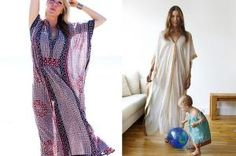 Easy to make Caftan..I know I know...it's just a prettier version of the Mumu..but I like it....don't judge me! by annabelle