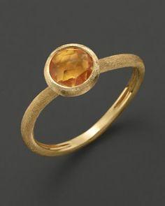 Marco Bicego Citrine Stackable Jaipur Ring  Bloomingdale's