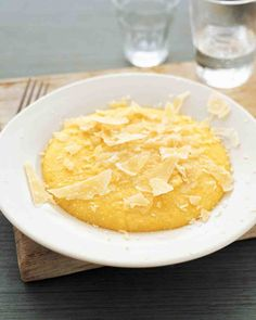 Basic Polenta (Soft or Set)