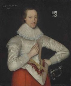 View Portrait of Conyers d'Arcy, Earl of Holderness three-quarter-length, in a white doublet and lace ruff By British School, Century; oil on canvas; X cm. Access more artwork lots and estimated & realized auction prices on MutualArt.