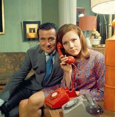 John Steed (Patrick Macnee) & Emma Peel (Diana Rigg ✾) The Avengers