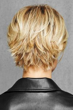 HairDo Wigs - Textured Fringe Bob - Back