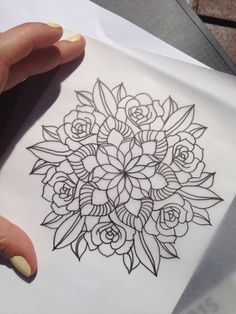 Mandala mandala rose, mandala art, rose tattoos, flower tattoos, new tatt. Elbow Tattoos, Stomach Tattoos, Rose Tattoos, Flower Tattoos, Body Art Tattoos, New Tattoos, Tattoo Drawings, Sleeve Tattoos, Paisley Tattoos