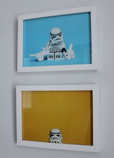 star wars lego prints.- boys' room, or for my 24 year old brother @Melissa Winkler