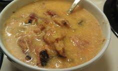 Low FODMAP Crock Pot Cheesy potato soup