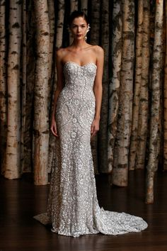 Strapless Naeem Khan wedding dress - WOW!