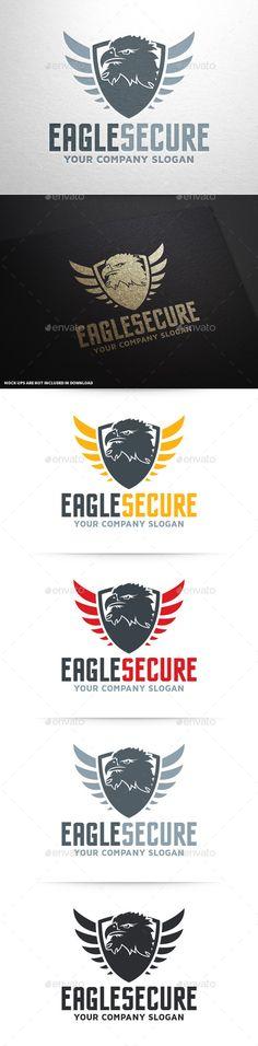 Eagle Security Logo Template - Animals Logo Templates