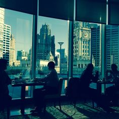 #Breakfast at the Trump International in Chicago.    Photo courtesy of kellygilligan on Instagram.