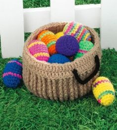 Easter Egg Basket | Crocheting Crafts | Easter Crafts — Country Woman Magazine