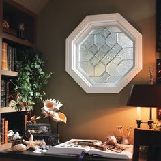 Decorative Glass Octagon