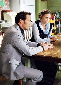 cinyma:  Vera Farmiga & Patrick Wilson as Ed and Lorraine Warren in The Conjuring (2013)
