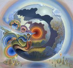 Ultraviolet Dreams. Artist: Mario Martinez (aka MARS-1).