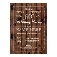 40 best 60th birthday party invitations images in 2018 60 birthday