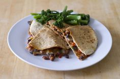 Hold tight for this banging black bean, red pepper and mozzarella quesadilla / The Body Coach Blog / The Body Coach