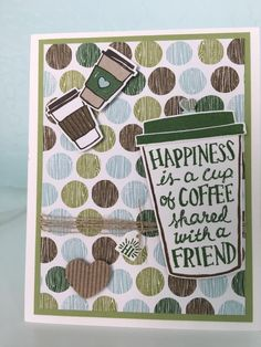 Stampin' Up! Coffee Cafe bundle
