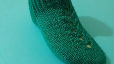 2 Şiş Çorap Patik Modeli Yapımı