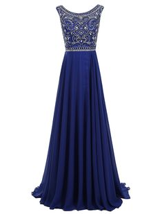 2017 prom, royal blue prom dresses,long prom dresses,chiffon prom dresses,fashion, style