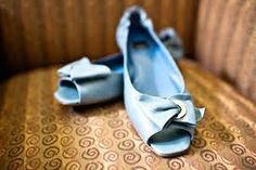 Baby blue I love you! #flats
