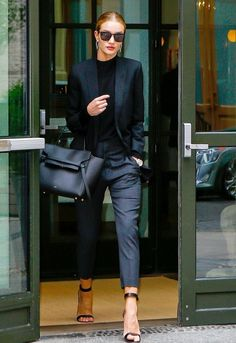 Rosie is seen walking in Soho (NYC) on April 28 Pinterest: KarinaCamerino